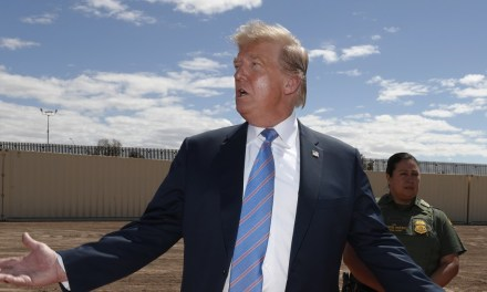 Trump has not built a single mile of new border fence after 30 months in office