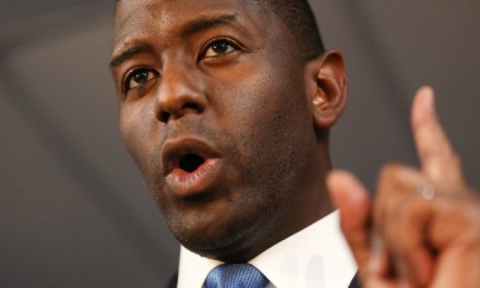 Gillum Working to 'Flip Florida Blue' by Registering 1 Million Voters
