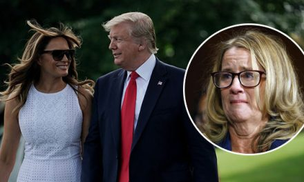 Book: Melania Trump Believes Christine Blasey Ford Was 'Lying'