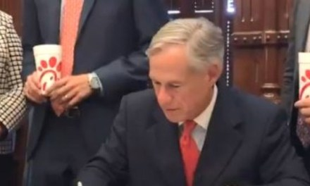 Gov. Abbott Signs Chick-fil-A Bill into Law to 'Protect Religious Liberty'