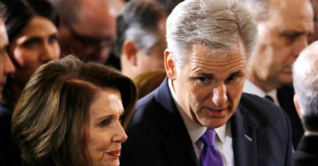 Kevin McCarthy, 140 GOP Reps Vote for Democrat Plan to Outsource Jobs