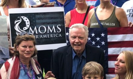 Gold Star Women with Jon Voight Hold Anti-Socialism Rally