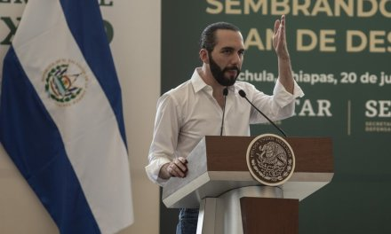 President of El Salvador says his country is to blame for the deaths of fleeing citizens