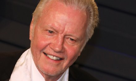 Watch: Actor Jon Voight wipes off rain-soaked seats for Gold Star families at President Trump's 'Salute to America' speech