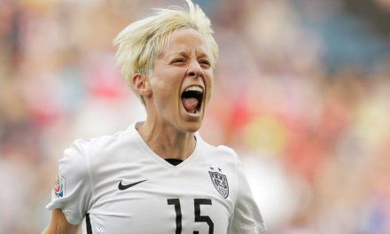 Police investigating vandalism of Megan Rapinoe World Cup posters as a possible hate crime