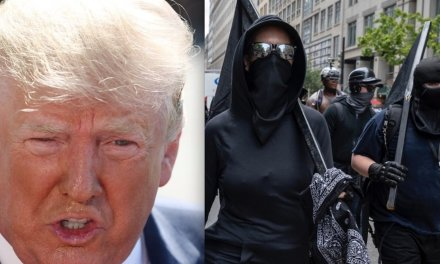 President Trump mocks violent Antifa for ganging up on individuals: 'They don't go after Bikers for Trump, you ever notice that?'