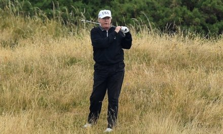 Cartoonist behind viral image of President Trump golfing next to drowned border crossers loses contract with newspaper publisher