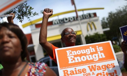 Restaurant chain says high minimum wages in places like Seattle caused its bankruptcy