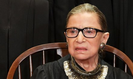 Ruth Bader Ginsburg comes out against Democrat plan to add justices to the Supreme Court