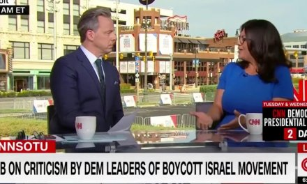 Jake Tapper grills Rashida Tlaib on BDS, whether Israel has 'right to exist.' Here's her stunning answer.