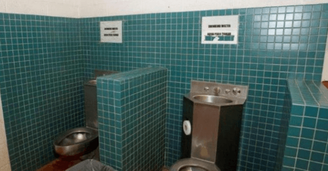 Photo Casts Doubt on Ocasio-Cortez's 'Drinking Out of Toilets' Claim