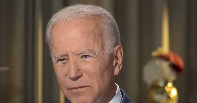 Biden: 'I Don't See Much' About What 'Holds Us Together' from Far Right, Breitbarts, and the Administration | Breitbart