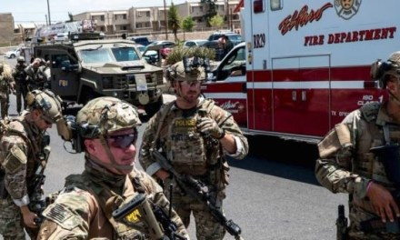 Border Patrol Aids El Paso Police During Walmart Shooting Spree