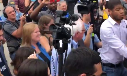 Enemy of the who? Bernie Sanders staffers rough up reporters in Iowa