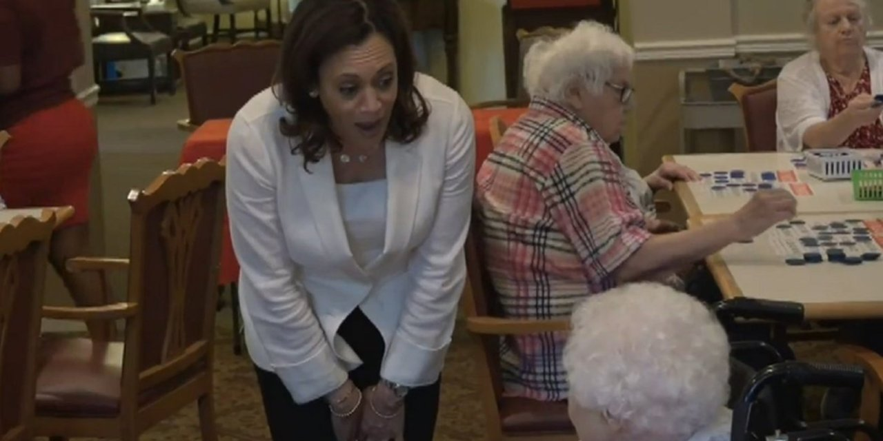 Kamala Harris gets scolded by elderly Iowa resident: 'Leave our health care alone'