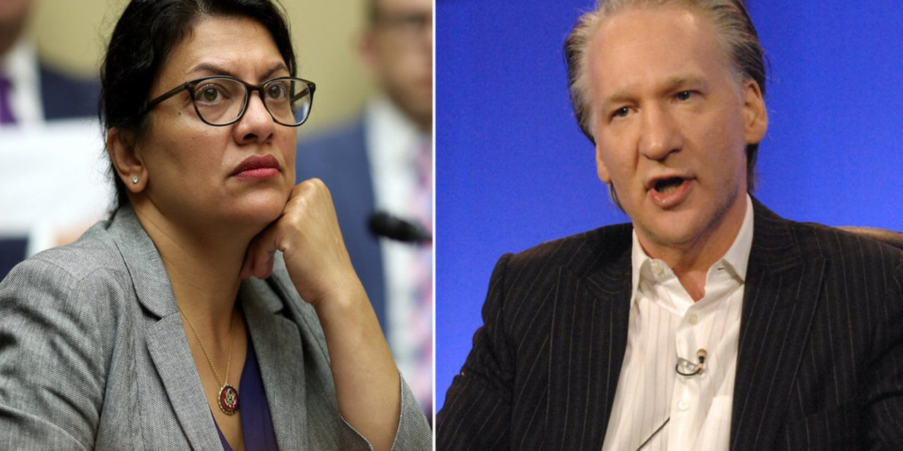 Rashida Tlaib lashes out at Bill Maher after he exposes the truth about anti-Israel BDS movement