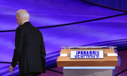 Biden's Guest Hosting Of 'Jeopardy!' A Disaster As He Flees Every Time A Contestant Puts An Answer In Form Of A Question