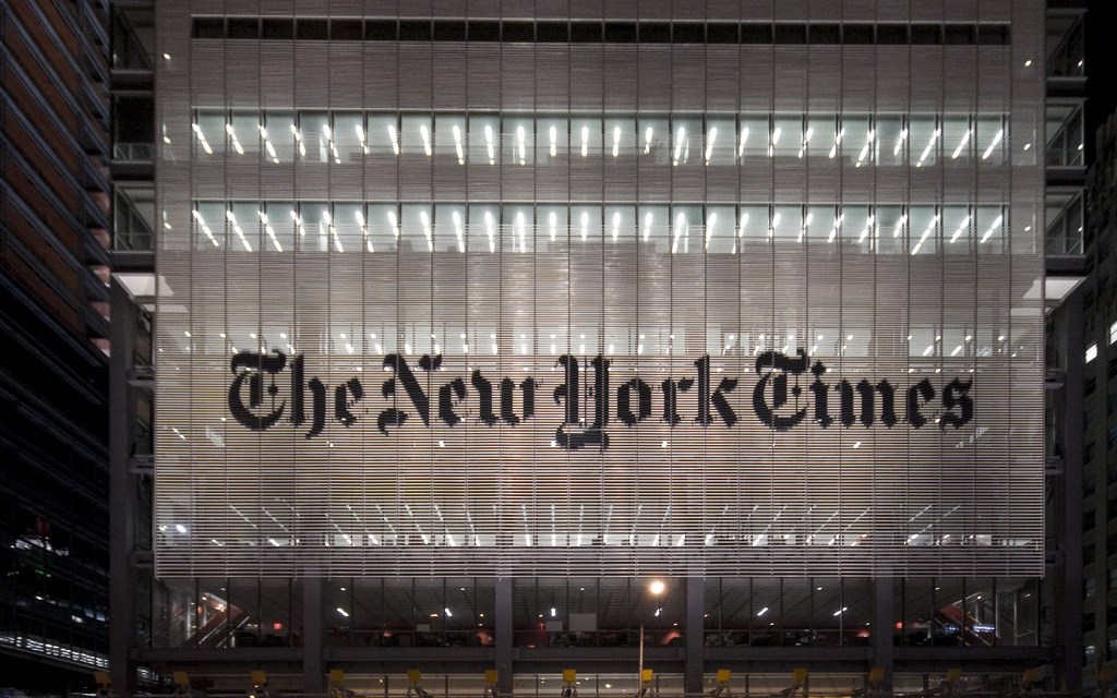 When you've lost the New York Times(6)