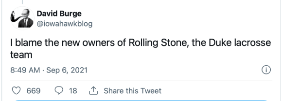 Two Questions About the Rolling Stone Story