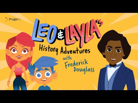 Leo and Layla's History Adventures with Frederick Douglass