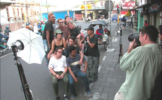 Time Magazine Asia photo shoot with Sama-Sama/Together artists