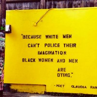 Because White Men Can't Police Their Imagination