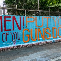 Men! All of You: Put Your Guns Down