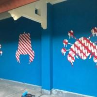 Bangkit/Arise – Kelly Ording Mural @ ISI