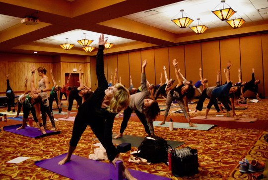South Dakota Yoga Conference 2017 Yoga for Athletes Mobility Session