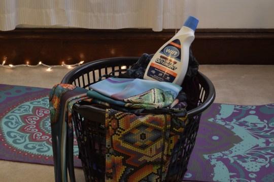 WIN detergent for active wear