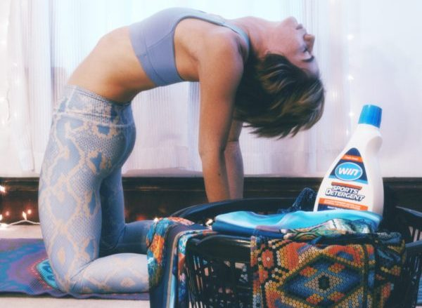 WIN Laundry detergent for Yogis!
