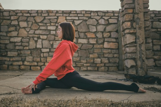 Yoga Club Box pigeon pose, 4 steps to sticking with a home yoga practice