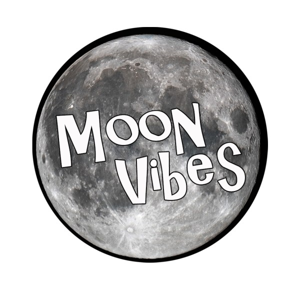Moon Vibes sticker from Clarissa Mae Yoga
