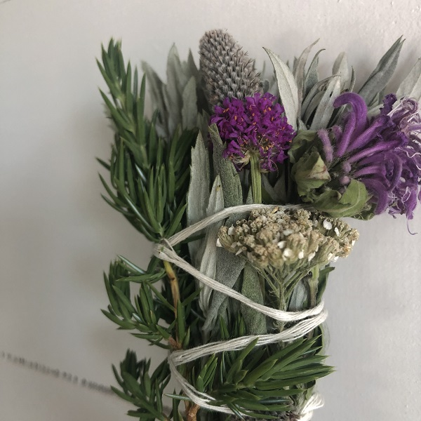 Sage, Juniper, and Wildflower Smudge Bundles