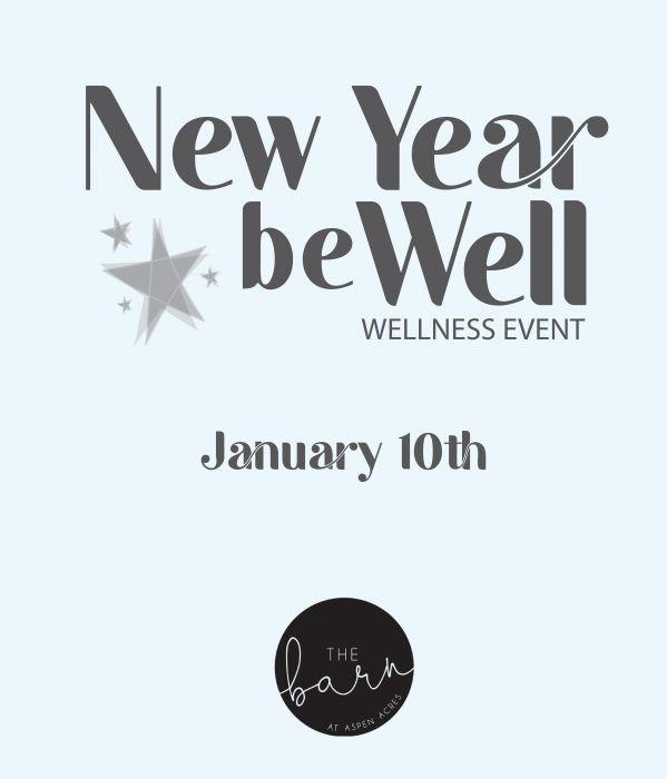 New Year Be Well The Barn at Aspen Acres Clarissa Mae Yoga 2021