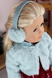 Icy Fur Earmuffs- $9