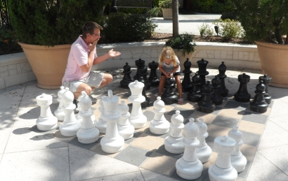 Chess for language learning