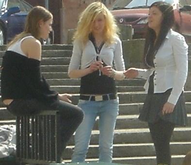 Polish girls chatting