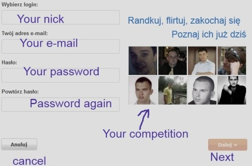 how to sign up Polish dating