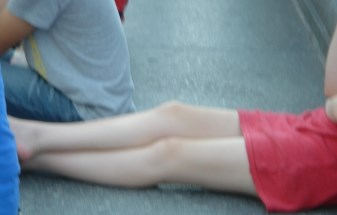 Photo Moscow girls legs