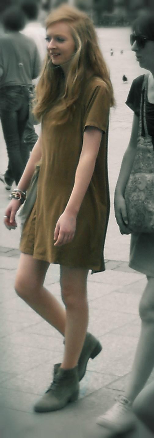 thin Ukrainian blond