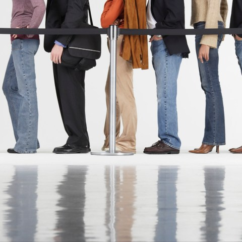 Banks want you to wait in line
