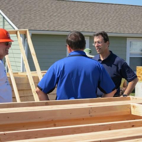 Clark makes plans with church for 2013 Joplin Habitat build