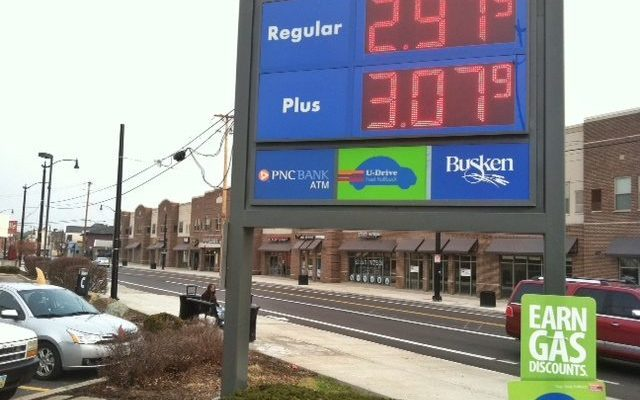 Price of gas will be smiling on your wallet