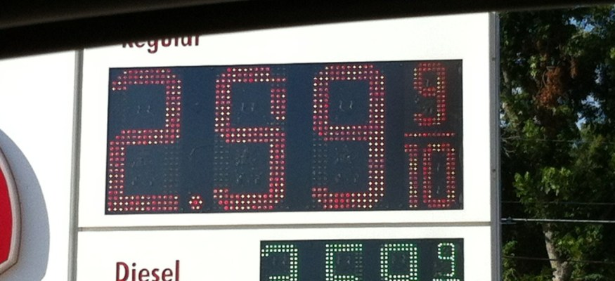 Why is the price of gas dropping?