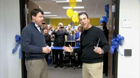 CAC Grand Opening Ribbon Cut