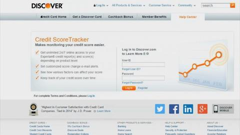 Free credit reports with your credit card