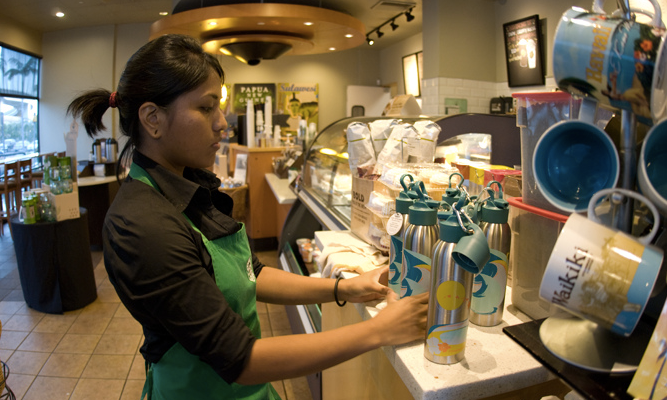 Starbucks and other big U.S. companies to hire 100K young people