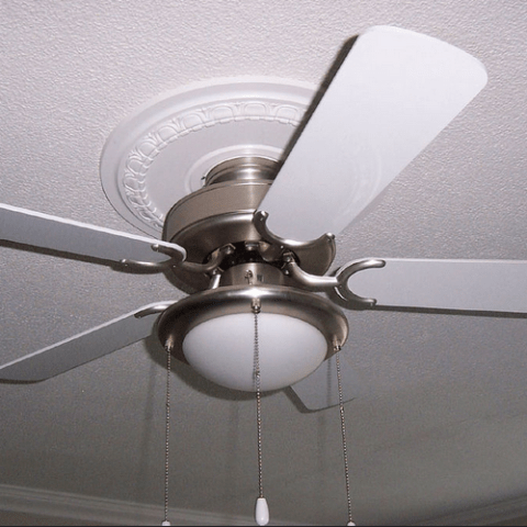 Ceiling fan vs. A.C.: How to stay cool and save in the heat