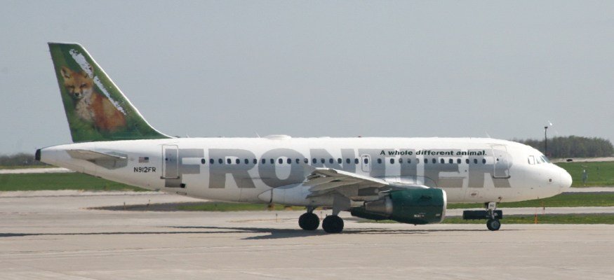 Frontier Air's $25 one-way fares!